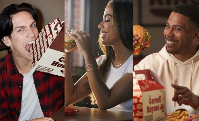 Burger King teams with Nelly, Anitta and LilHuddy to celebrate real food