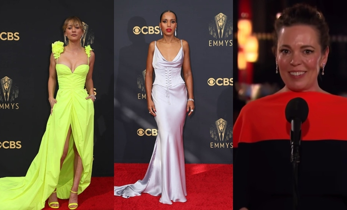 Emmys: Colman, Cuoco, Washington and Kaling sparkle in De Beers diamonds
