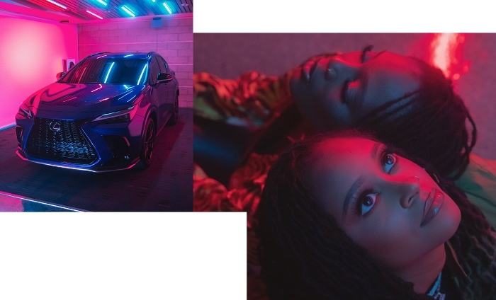 Creative sparks fly in new Lexus campaign