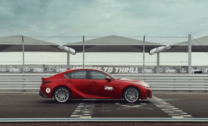 """Lexus IS 500 F SPORT Performance in """"License to Thrill"""""""