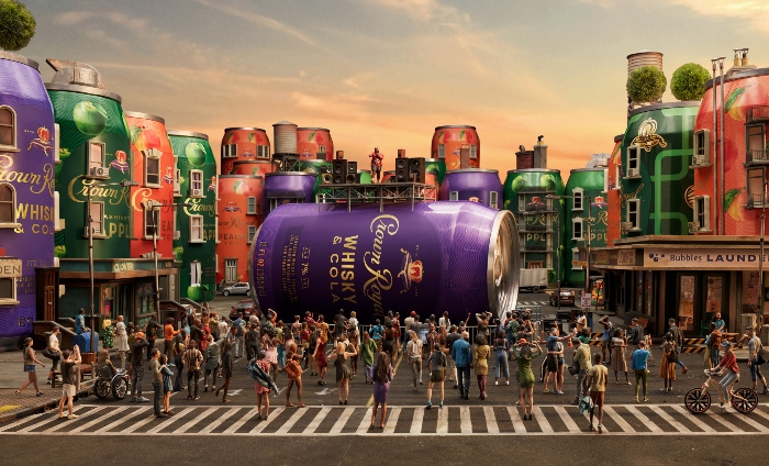 """Crown Royal launches 3D """"A New World Of Cocktails"""" campaign"""
