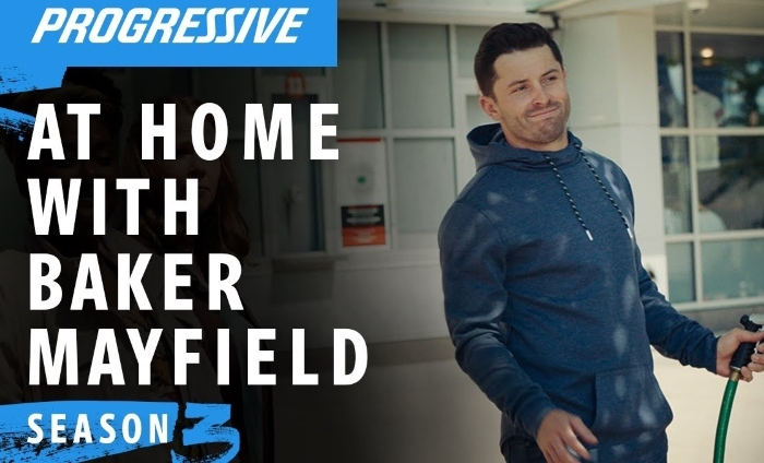 Progressive Insurance is at home with Baker Mayfield