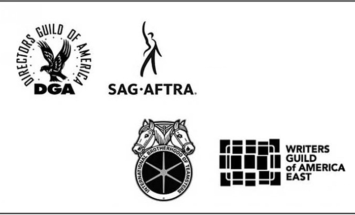 WGA East, SAG-AFTRA DGA release supporting statement for IATSE