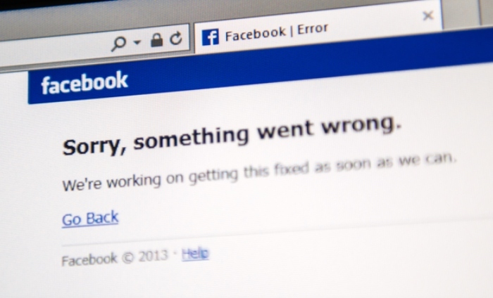 Facebook went down on us again and no one was pleased