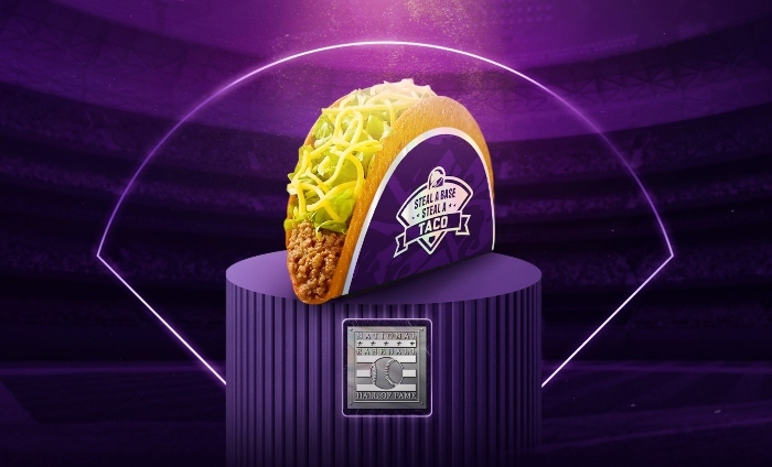 Taco Bell endorses stealing… bases