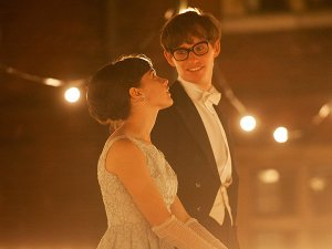 "Felicity Jones and Eddie Redmayne star in ""The Theory of Everything."" Photo provided"