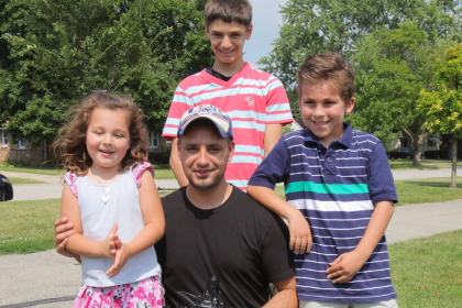 Adibs with kids on location