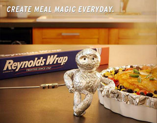 Euro's CCO Peterson excels with Reynolds Wrap spot