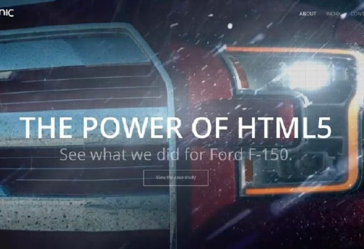 Picnic New Media first in HTML5 with new Ford ads