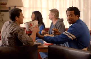KFC campaign targets the 'couchgaters' of the world