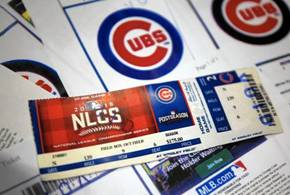OTSC luncheon raffle ticket could win you 4 Cubs seats