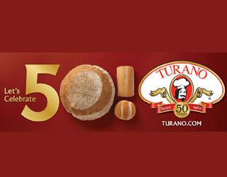 Turano Baking campaign celebrates 50th anniversary