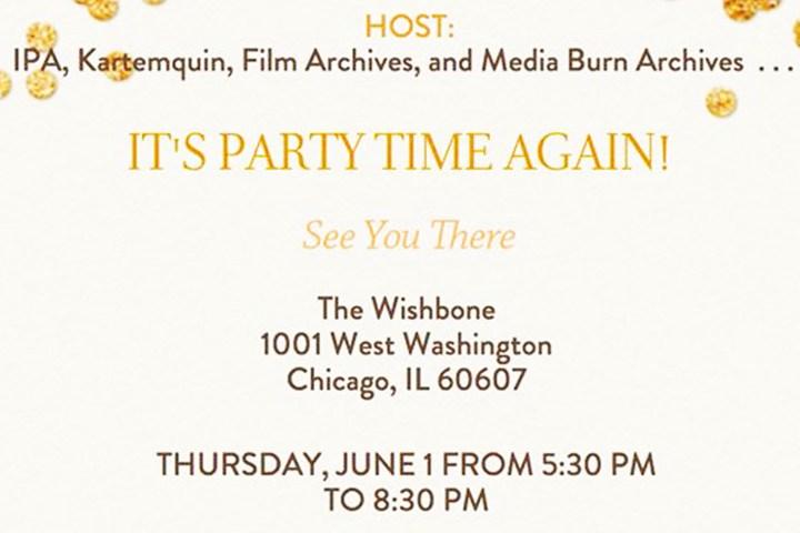 Polaroid Wall Party updates history of film community