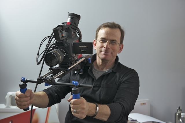 Cohon's AF100 camera fits the bill for a variety of projects