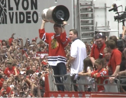 TV outlets going the max for Hawks parade coverage