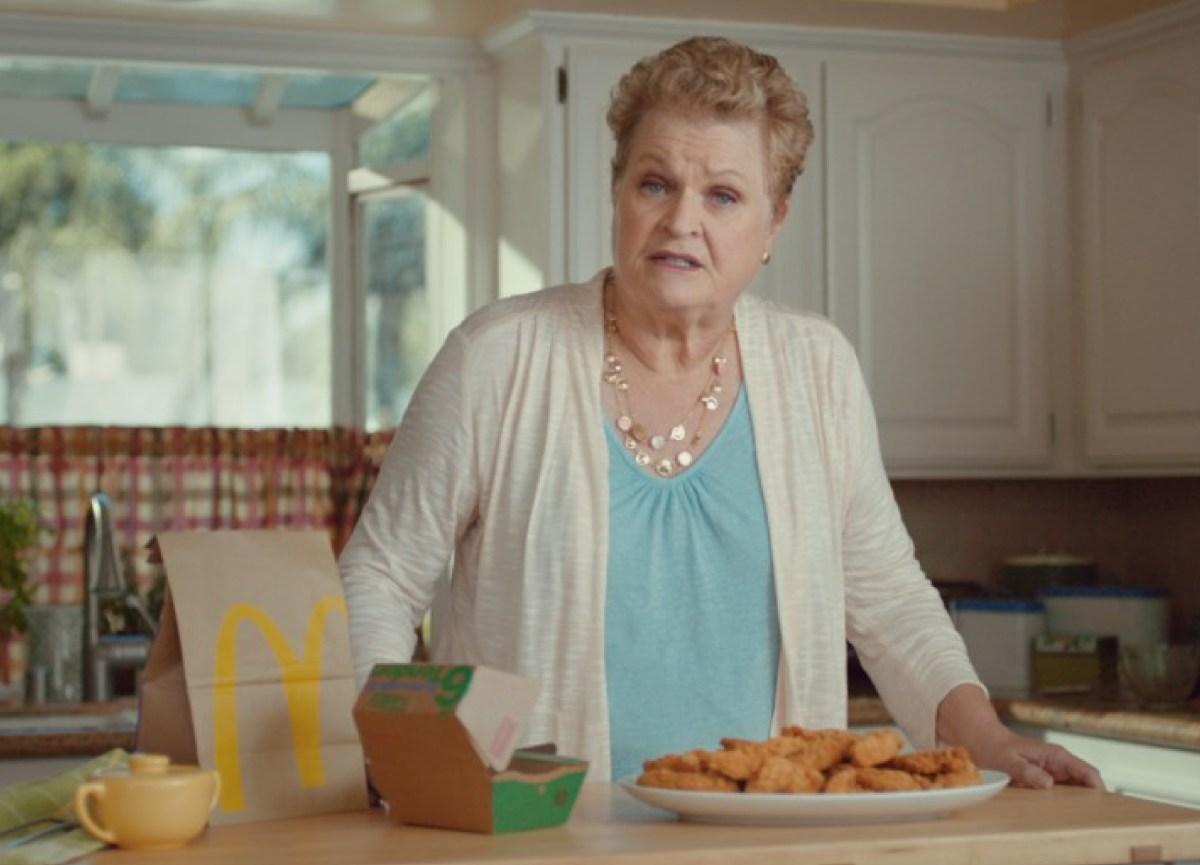 Grandma gets a life in new McD's spots