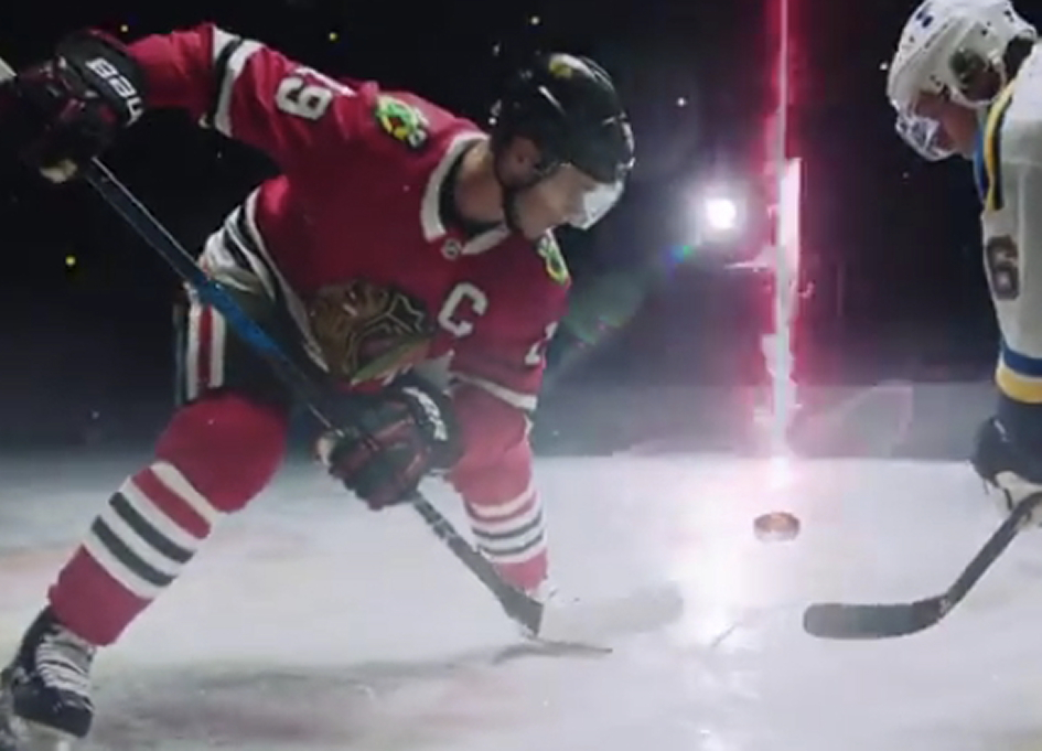 Daily Planet 'Hit the Ice' with the Blackhawks