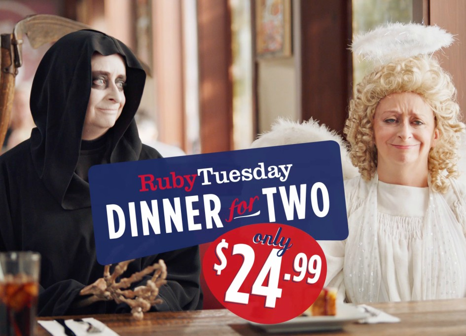 """""""SNL's"""" Rachel Dratch in new Ruby Tuesday campaign"""