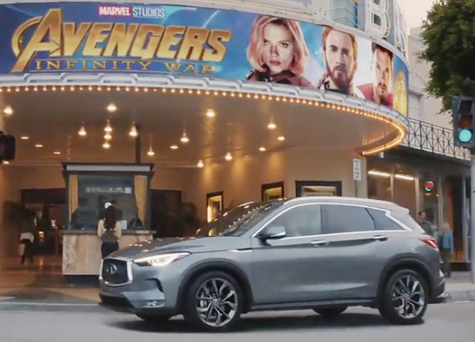 """Arriving safely in CP+B's """"Date Night"""" for the Infiniti QX50"""