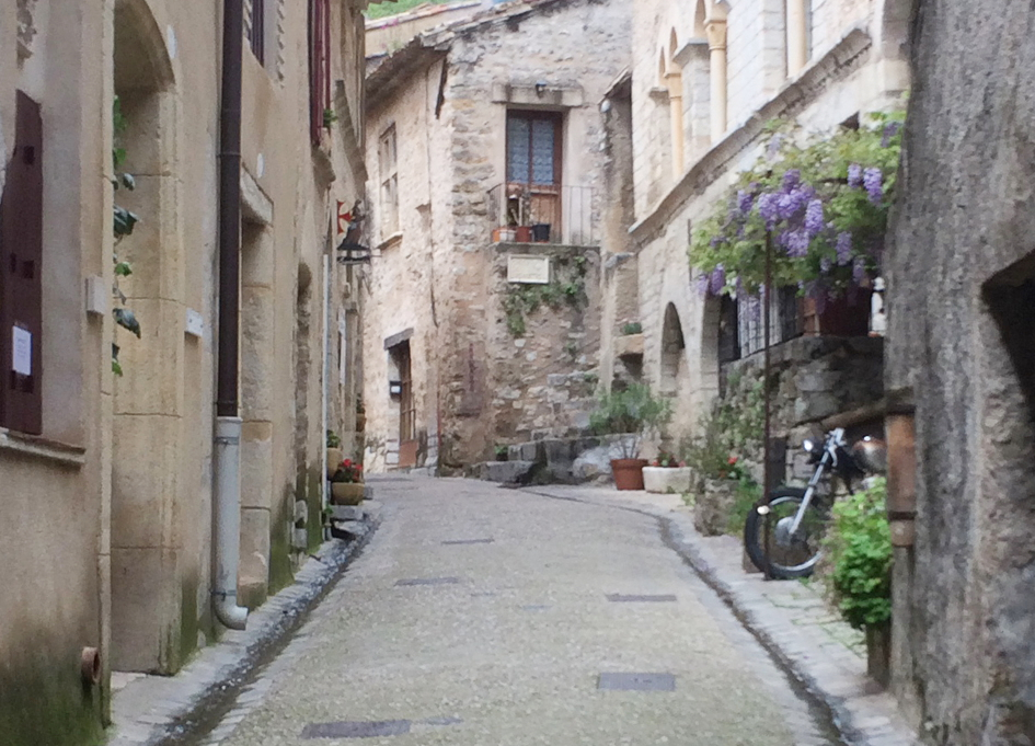 """A location shot for """"Passing Through,"""" a feature that Py will begin shooting in France this summer"""