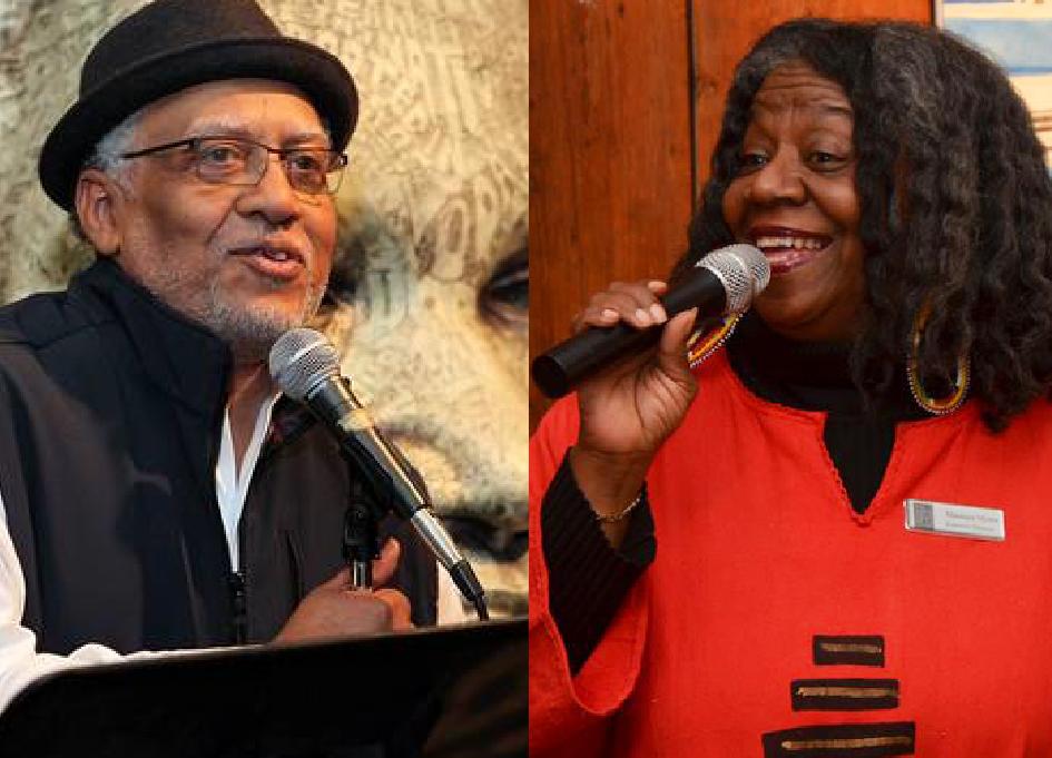 Pemon Rami and Maséqua Myers at Black Harvest