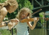 """Anne Harris and Reese Harley in """"The Musician"""""""