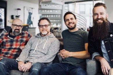 Scott Smith, Aaron Kiser, Steve Wood, and Mike Regan