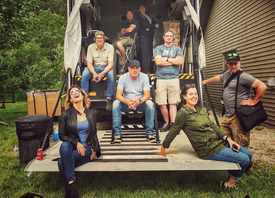 """On location with the """"Garage Squad"""" crew"""