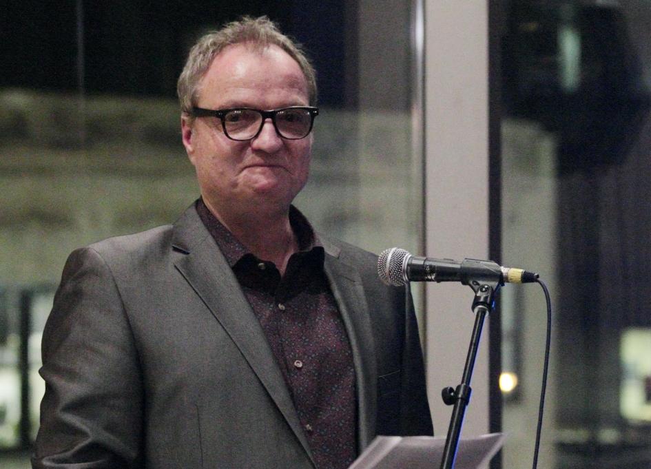 Film Office Director Rich Moskal: a tough act to follow