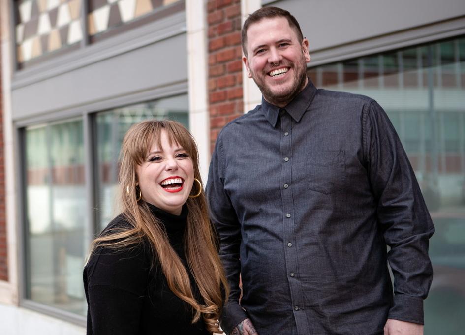 Morgan Bradley and Kalen Kirkpatrick