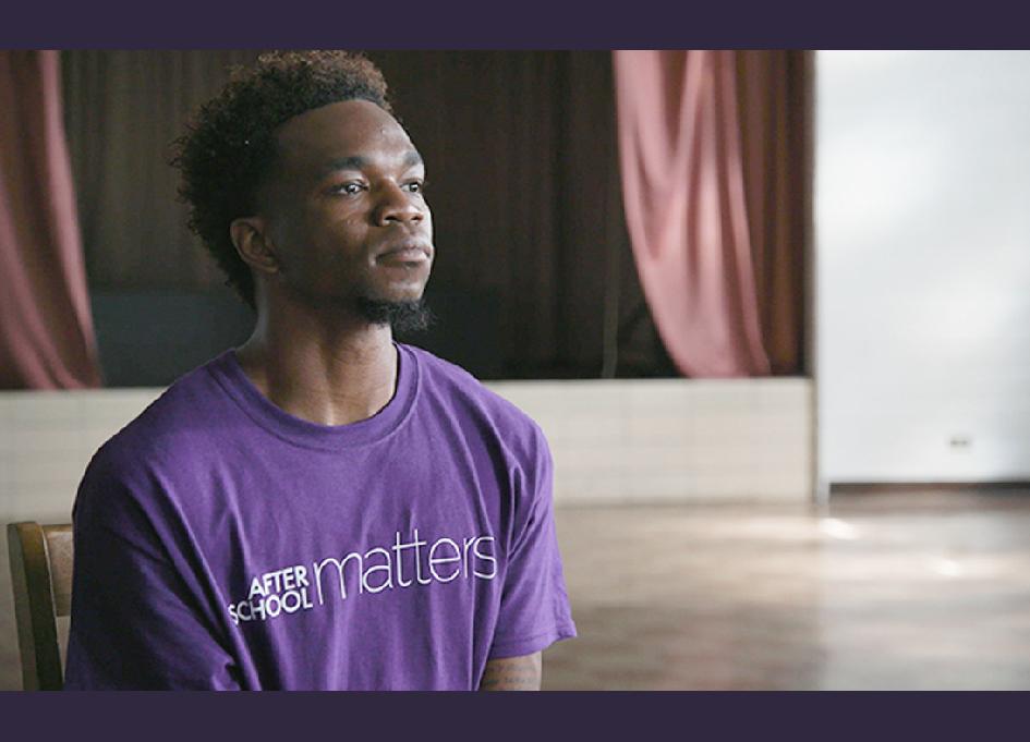 After School Matters alumnus Darrius Thomas