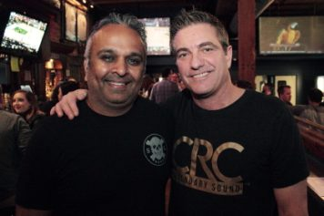 Sujal Patel and Mark Ruff at the 2019 Battle for Hope