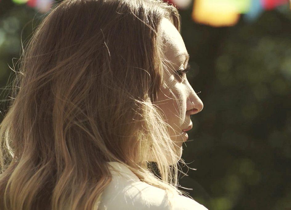 Kalika Rose in the 2018 HIFF short film 'Golden Voices'