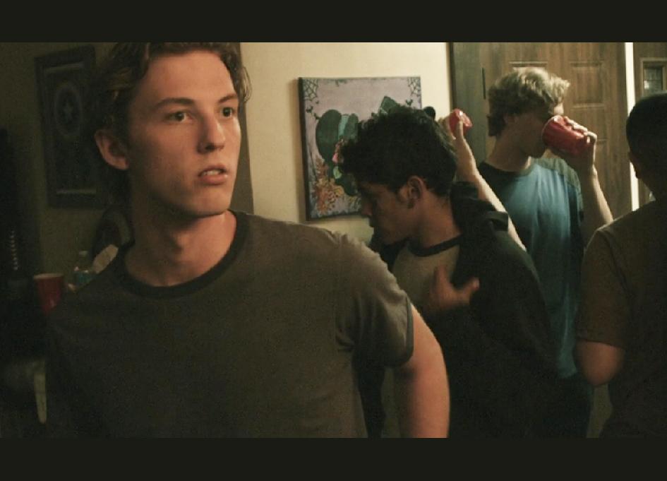 Austin Holloway in 'Bleed American'
