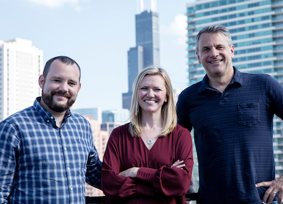 SRW co-founders Brian Rolling, Kate Weidner & Charlie Stone
