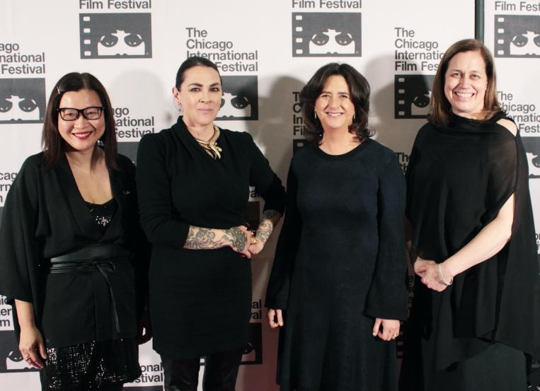 Vivian Teng, Jennifer Reeder, Gigi Pritzker, and Mimi Plauché