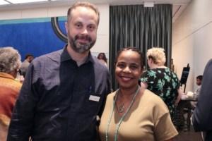 Jeff McCarter and Pamela Sherrod Anderson