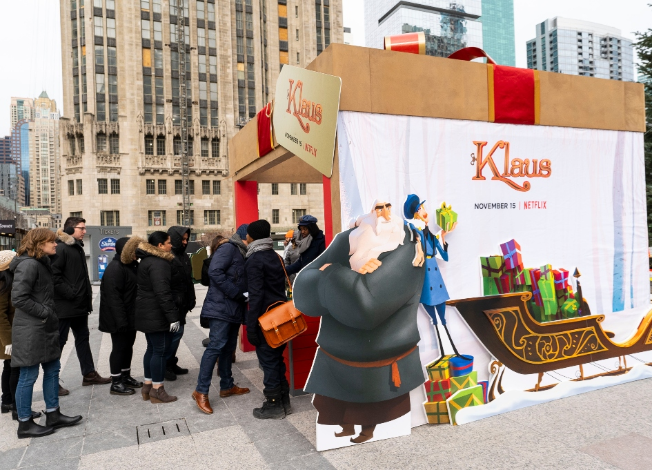 Netflix, 'Klaus' bring special delivery to Chicago kids