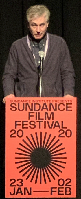 Steve James at Sundance