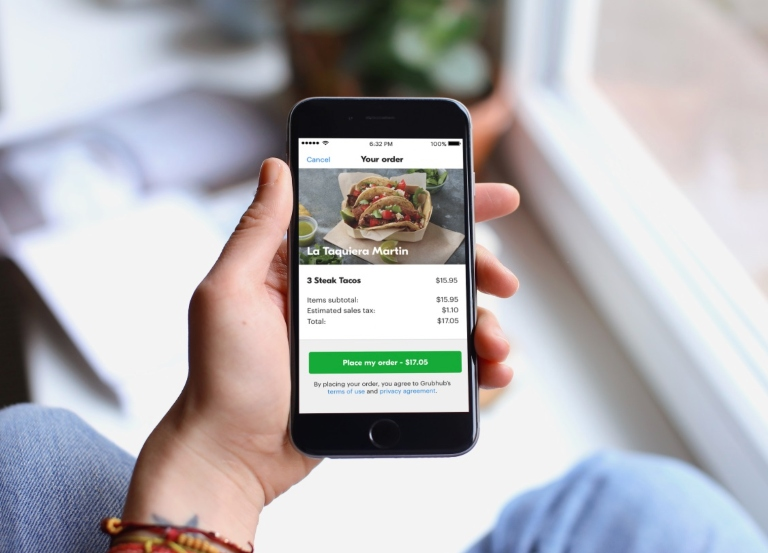 Grubhub sets up fund for drivers and restaurants
