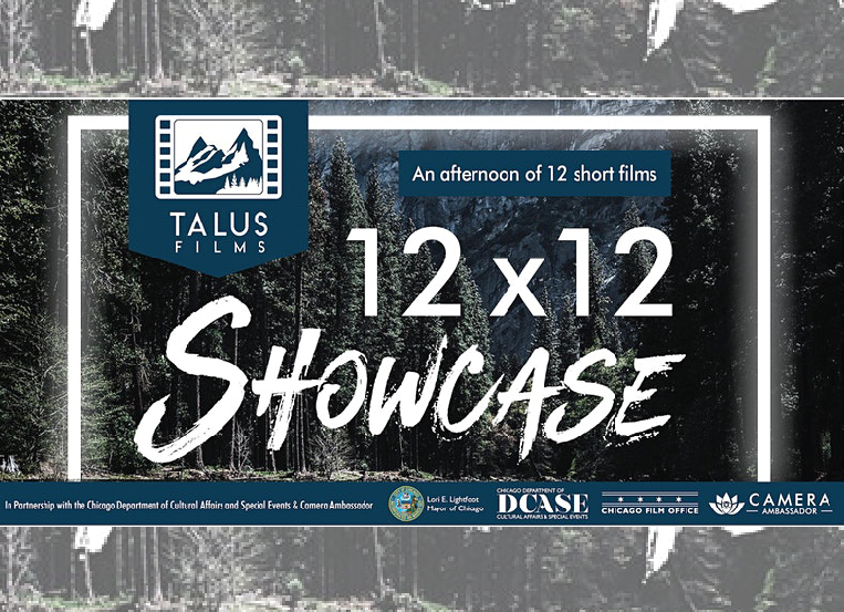 Talus Films presents '12X12 Showcase' at Cultural Center