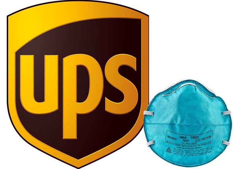 UPS Donates 10,000 N95 Masks to Chicago Police Dept