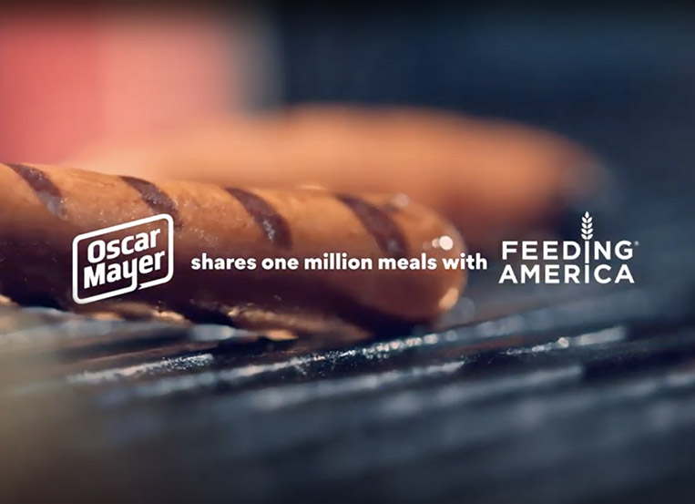 Oscar Mayer, mcgarrybowen are Feeding America