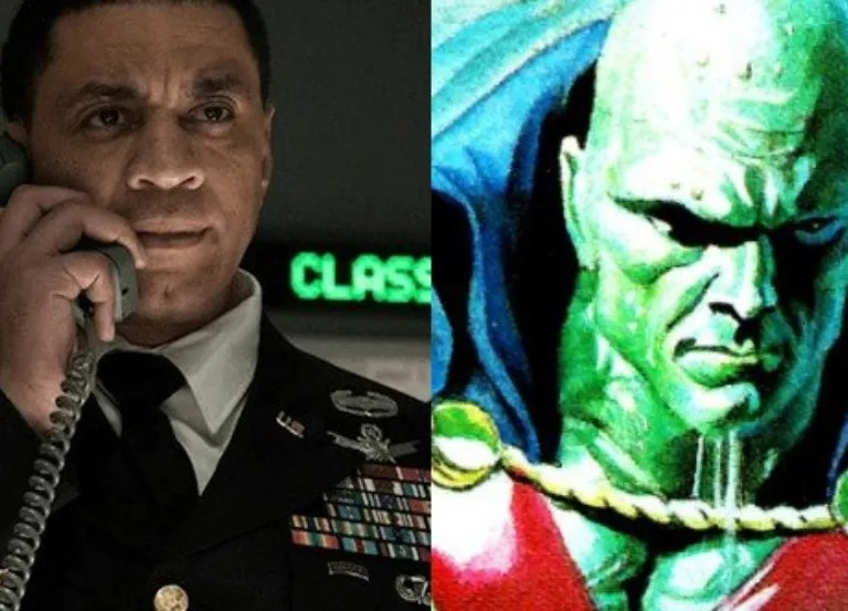 Chicago's Harry Lennix hints at Martian Manhunter role