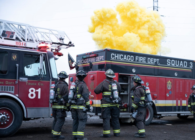 'Chicago Fire' encore is Wednesday's top show
