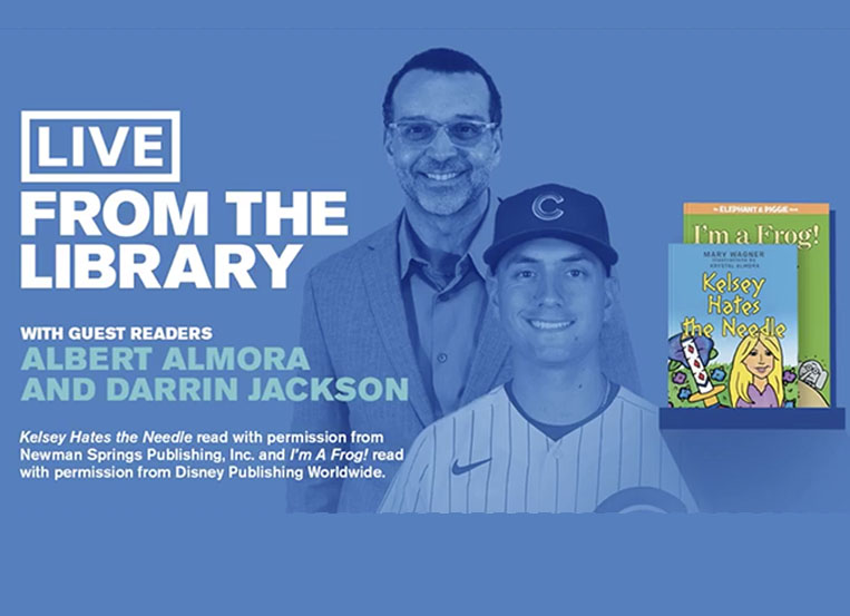 Cubs and White Sox read for CPL 'Live From the Library'