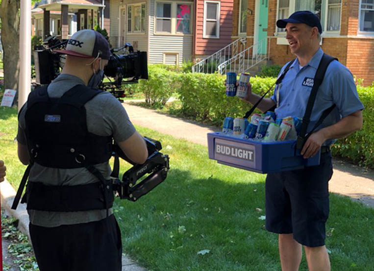 STORY celebrates the Bud Light beer man
