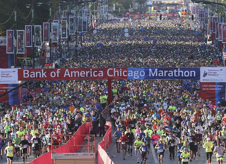 Bank of America Chicago Marathon 2020 canceled