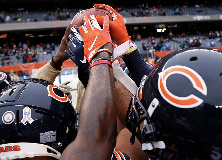 Bears players vow to take action to effect change