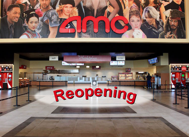 70% of AMC Theatres to be open by Friday, September 4